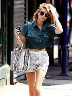 whitney port shorts-thumb-233x307